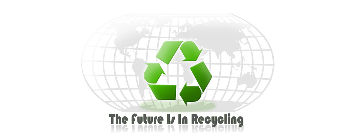THE FUTURE <br/>IS IN RECYCLING